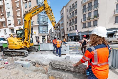 Les travaux publics finissent l'année en beauté!