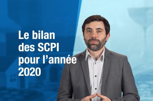 Le bilan des SCPI pour l'année 2020